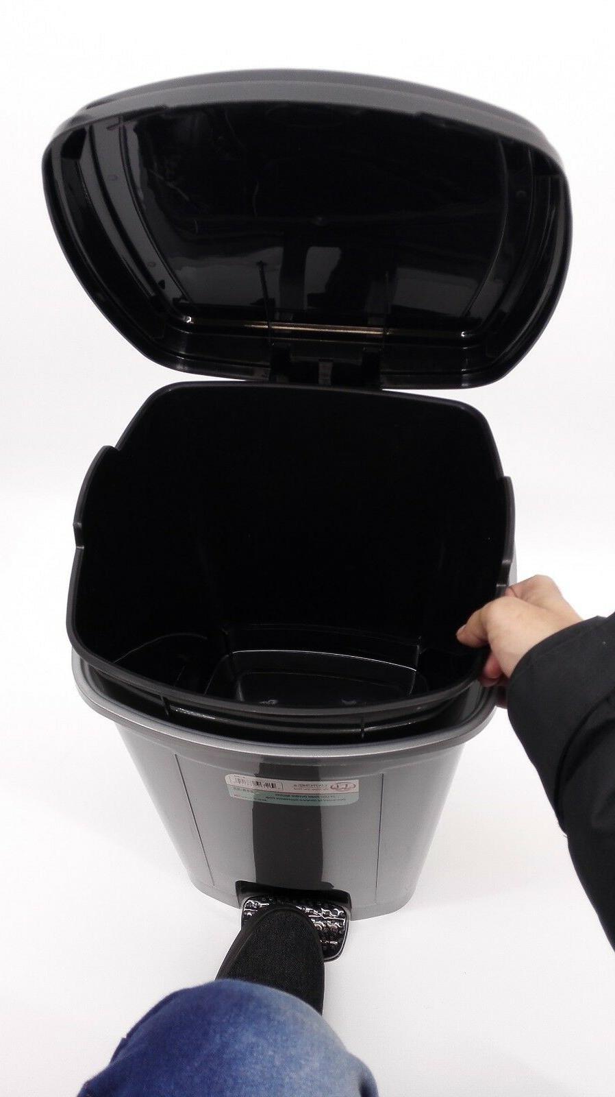 288 Uniware Pedal Dustbin/Trash Can Liter