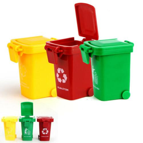 3 trash can toy garbage truck cans