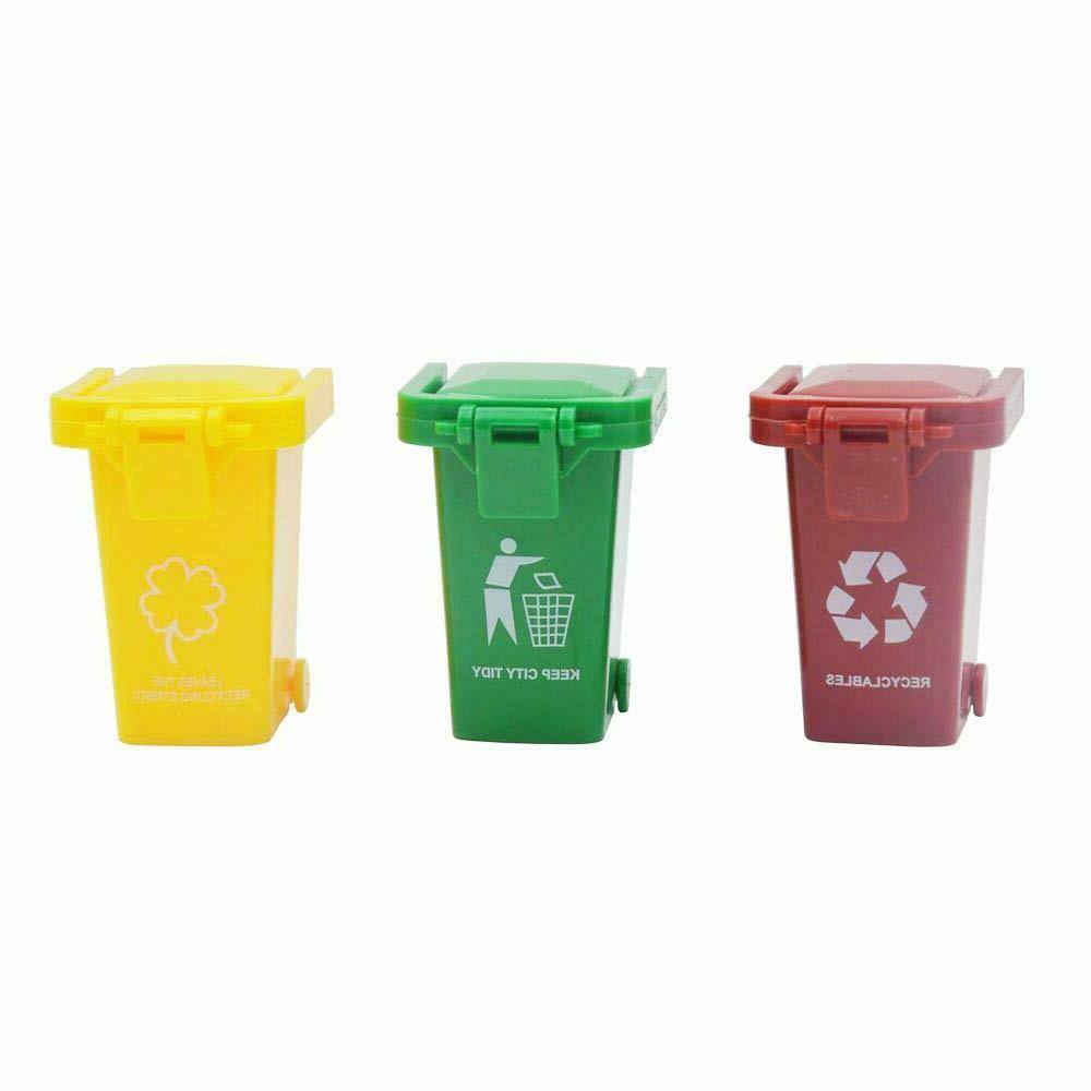 3 trash can toy garbage truck s