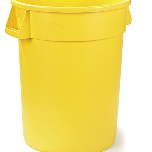 34103202 bronco round waste container