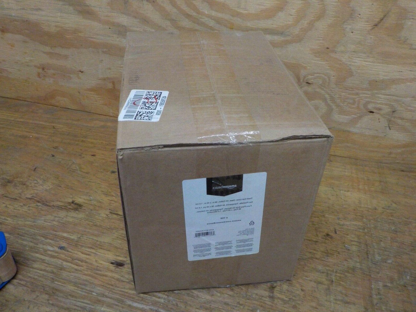 AmazonBasics Can 1.6 Black, 150-Count