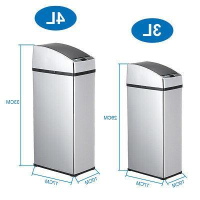 4L Sensor Waste Trash Can Office