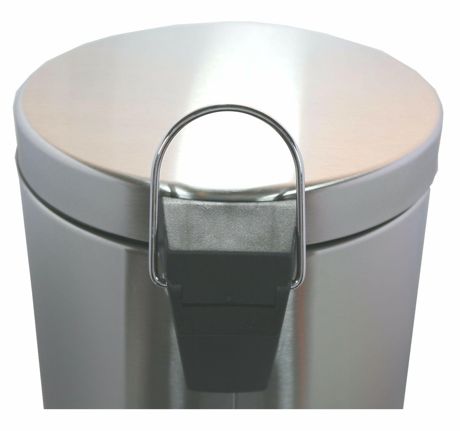 5 Liter/1.3 Round Steel Step Trash