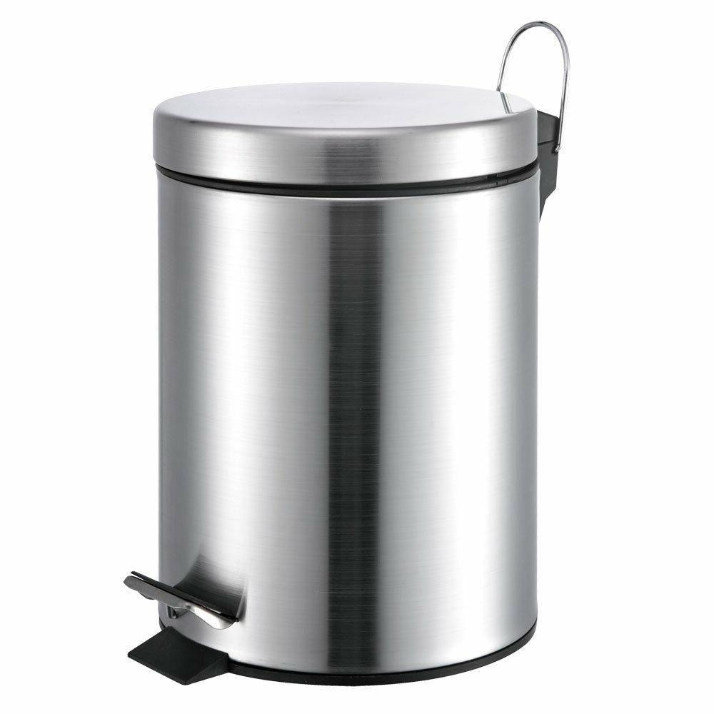5 liter round stainless steel