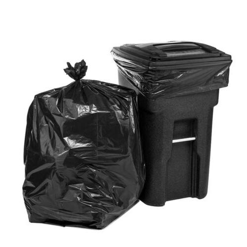 "50 Pcs Trash Bags 64 Gallon for Toter 51""×59"" Heave Duty Ga"