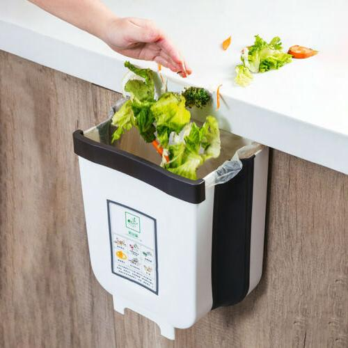 6L Wall Waste Door Hanging Trash Can
