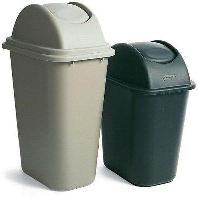 Rubbermaid Gal. Rectangular Trash Can