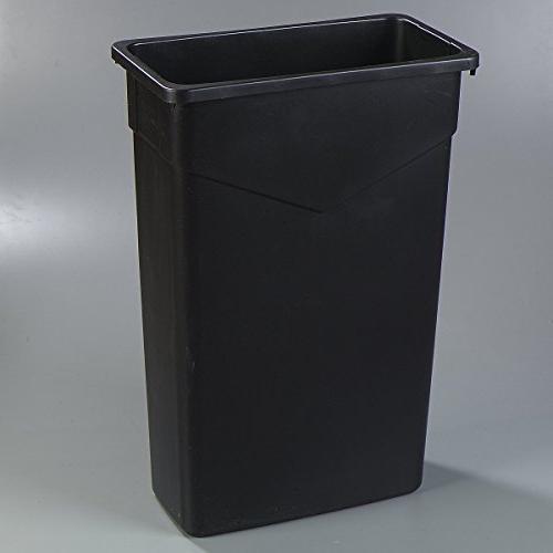 Carlisle 34202303 Waste Only, 23 Gallon, Black