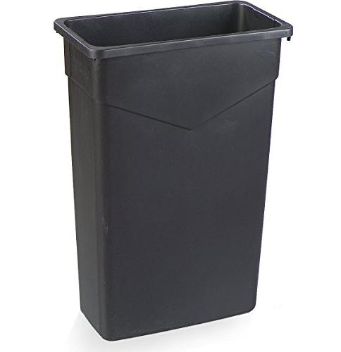 Carlisle 34202303 Rectangle Waste Trash Can Only,