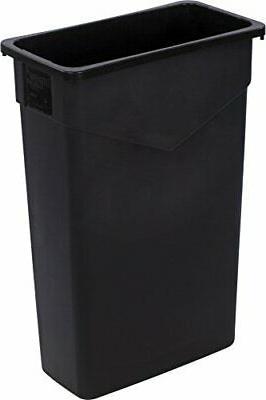 Carlisle 34202303 TrimLine Rectangle Waste Container Trash C