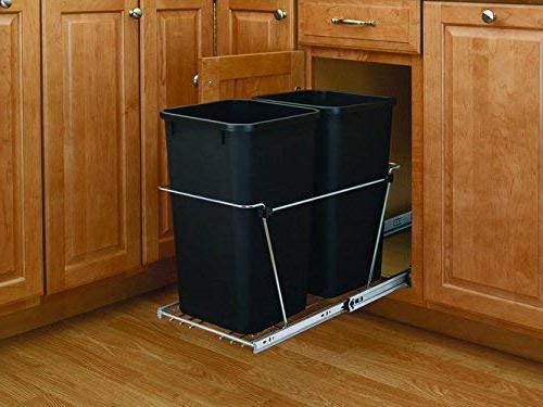 Rev-A-Shelf - RV-18KD-18C - Double 35 Pull-Out Waste Container