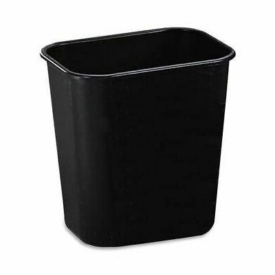 Rubbermaid Commercial 295500BK Deskside Plastic Wastebasket,