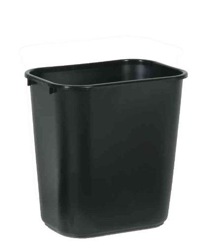 Rubbermaid Commercial Soft Molded Plastic Wastebasket, 7 Gal