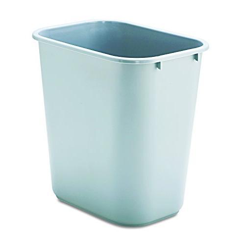 "Rubbermaid - Rectangular Wastebasket,28-1/8 Qt,14-1/4""x10-1/"