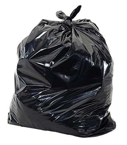 UltraSac Bags x 33' Large Professional Quality Black Garbage Extra Home, Kitchen, and other