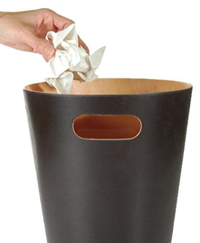 Umbra Modern Trash Wastebasket for Home or Charcoal