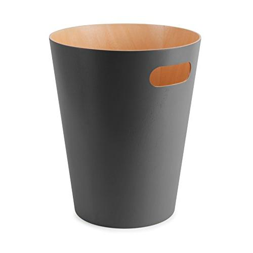 Umbra Modern Wastebasket for or Charcoal