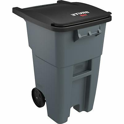 Wholesale CASE of 2 - Rubbermaid BRUTE Rollout Container w/