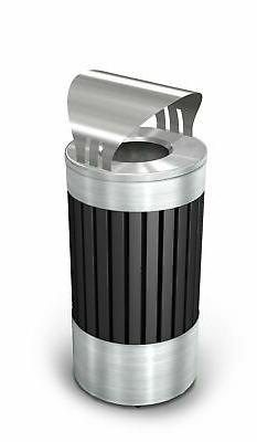 Commercial Zone ArchTec Stainless Steel 15 Gallon Trash Can