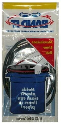 Armaly, 2 Pack, Bandit, 32 - 55 Gallon, Trash Can Loop