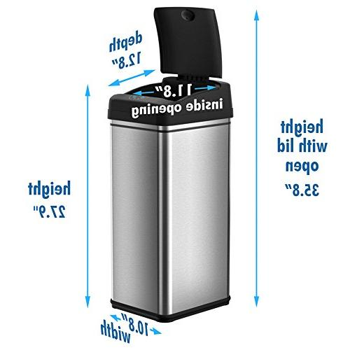 iTouchless 13 Automatic Touchless Kitchen Odor Filter Limited