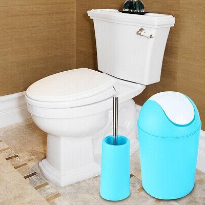 6Pcs Bathroom Accessories Set Trash Can Soap Dispenser Tooth