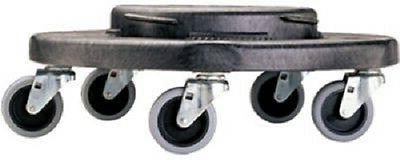 Rubbermaid gal. Black Wheeled Container Dolly-Mfg# 264020BLA