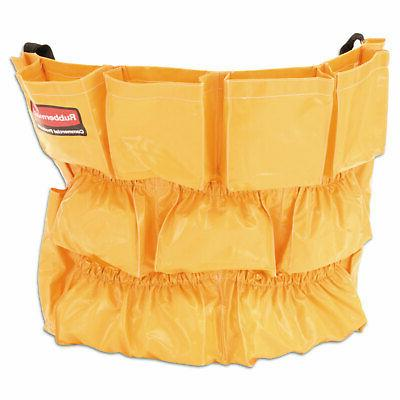 brute caddy bag 12 pockets yellow