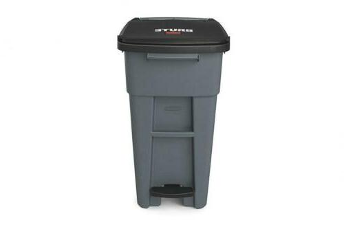 Rubbermaid Commercial Products BRUTE Rollout Can,...