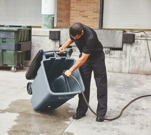 Rubbermaid Commercial Products BRUTE Rollout Step On Can,...
