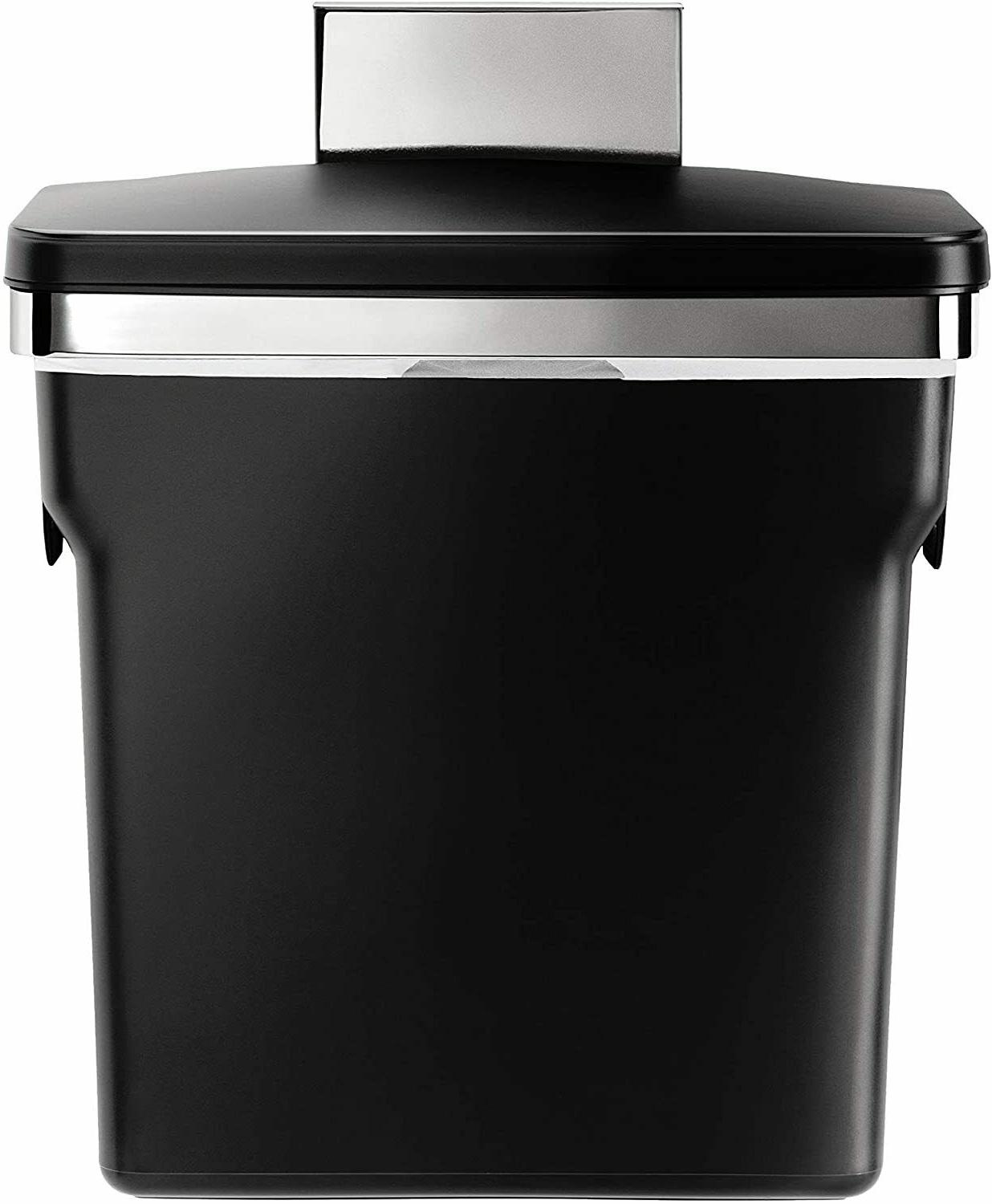 simplehuman 10 Liter / 2.6 Gallon In-Cabinet Kitchen Trash C