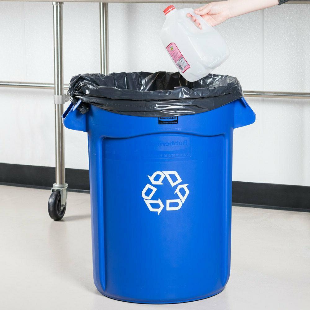 Rubbermaid Commercial Garbage Gal Bin No Lid