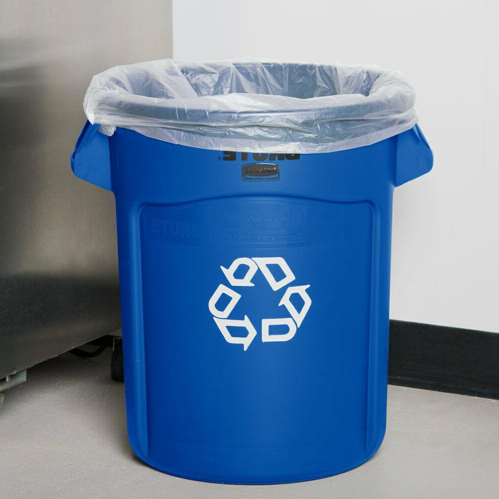 Rubbermaid Garbage 20 55 Gal Trash No Lid