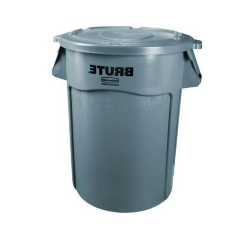 commercial products brute vented 32 gallon gray
