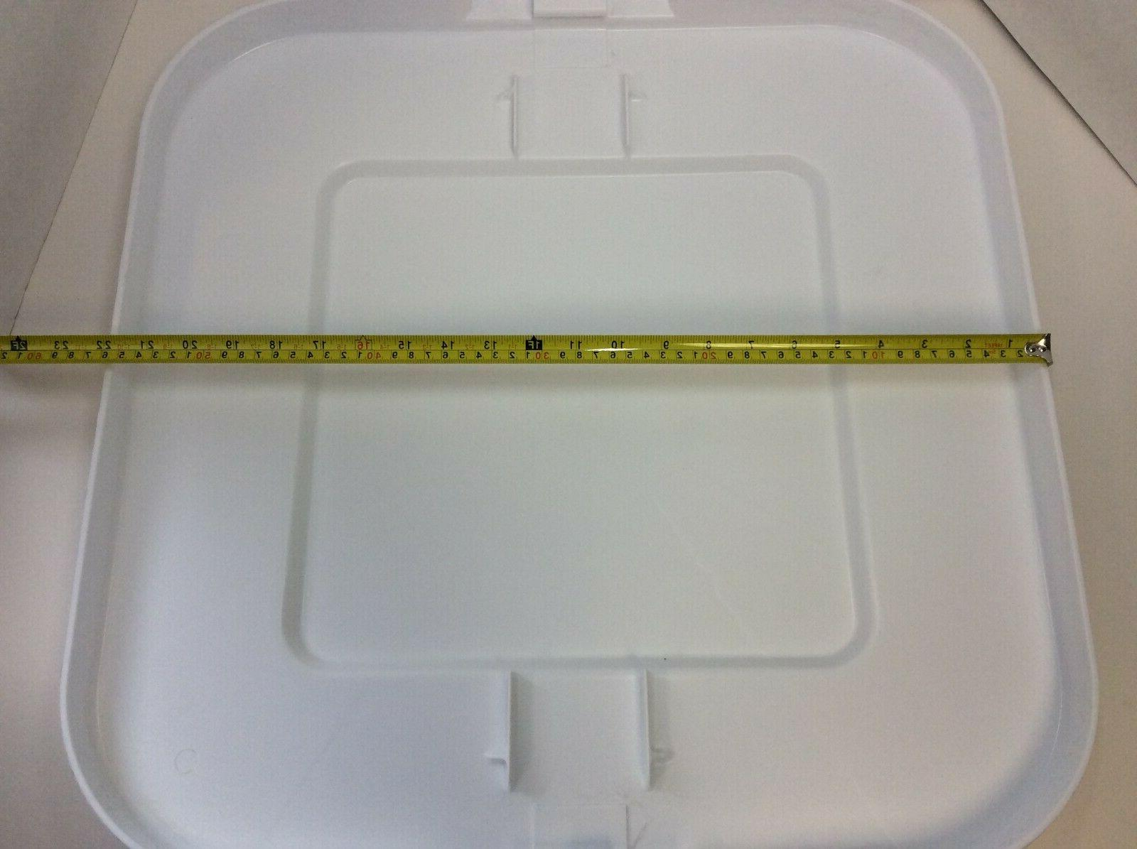 RUBBERMAID COMMERCIAL Trash Can Top,
