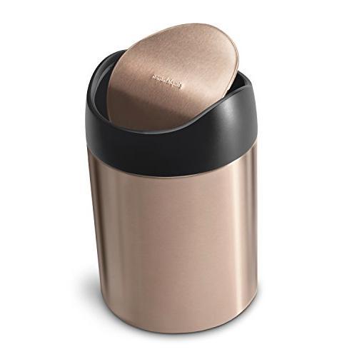 countertop trash can