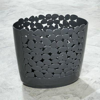 decorative oval trash can wastebasket