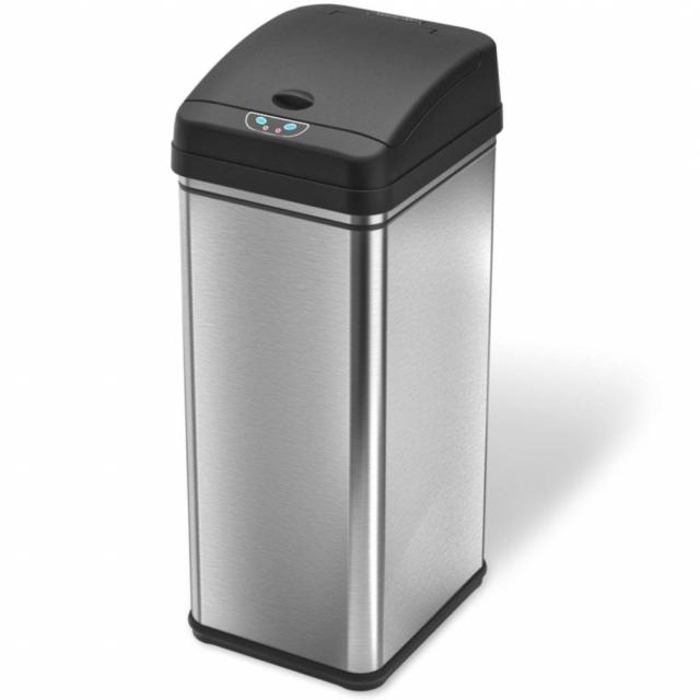 deodorizer sensor touchless 13 gallon stainless steel