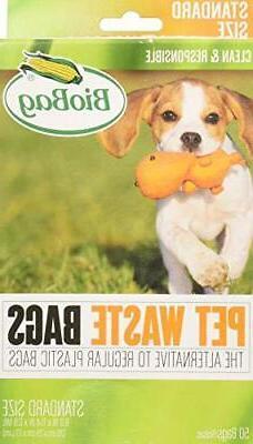 BioBag Dog Waste Bags, 50 ct