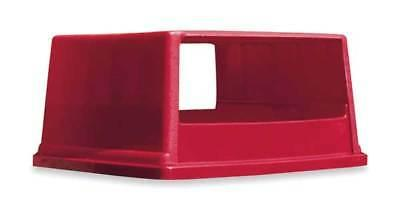 fg256v00red rectangle red trash can