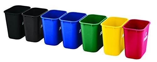 Rubbermaid Products Plastic 7