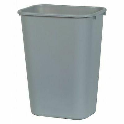 fg295700gray large gray wastebasket