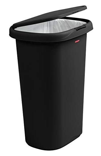 Rubbermaid Spring-Top Lid Can Gallon,