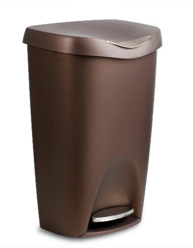 Foot Trash Large Lid Touch Garbage Bin Indoor Gallon