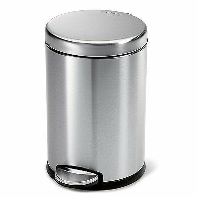 gallon touch trash can kitchen