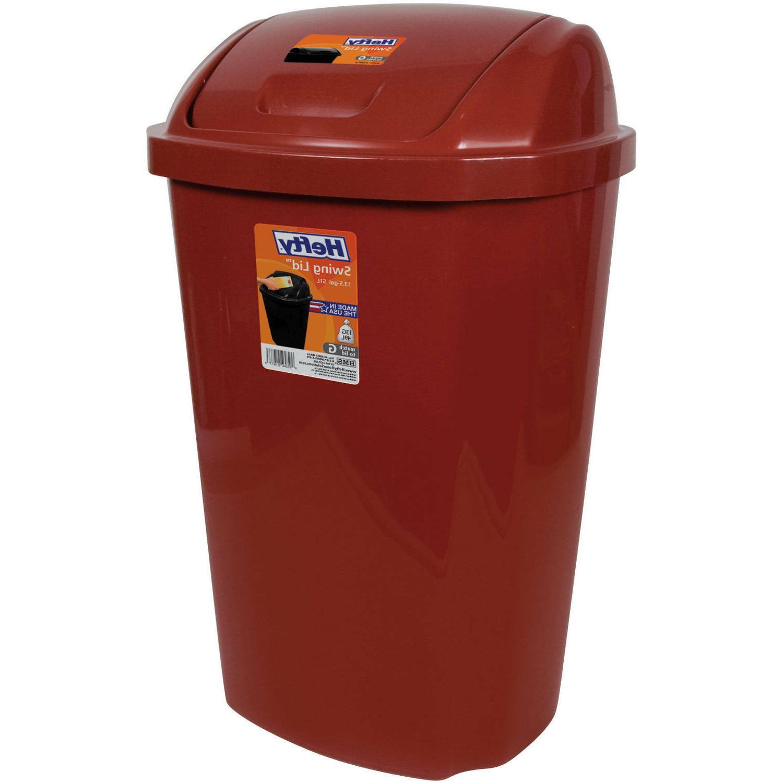 Garbage With Swing Gallon Trash Waste Basket
