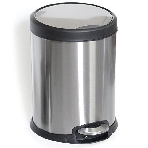 garbage trash can