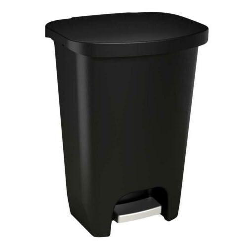 gld 74030 plastic step trash can