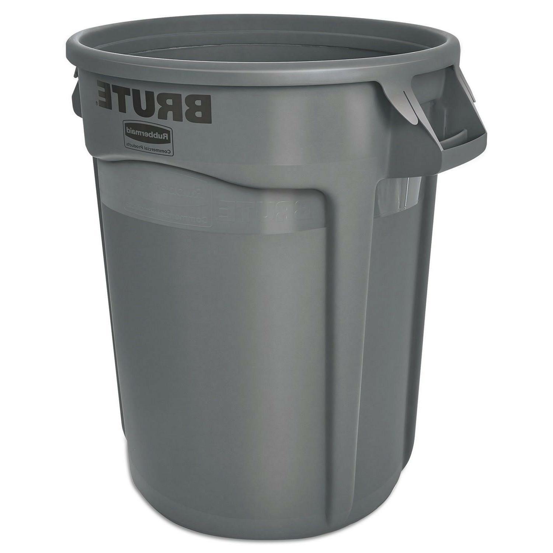 GRAY Industrial Commercial Brute Trash Bin Various