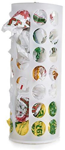 Grocery Bag Storage Holder - This Large Capacity Bag Dispens